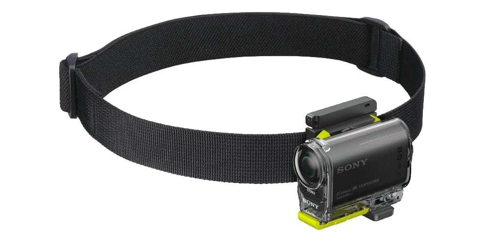 Крепление на голову Sony BLT-UHM1 с камерой