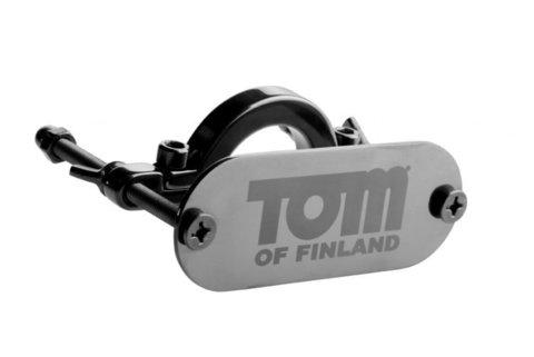 Tom of Finland Stainless Steel Ball Crusher Металлический зажим на мошонку с фиксацией фото