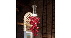 Italamp 2326 35 Copper Red AN — Потолочный подвесной светильник BON TON