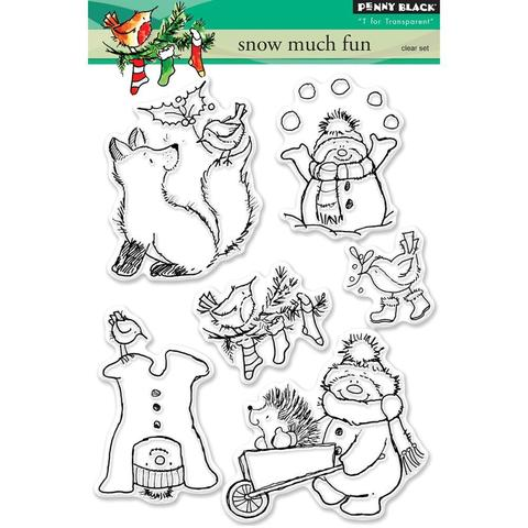 Набор штампов  -Snow Much Fun