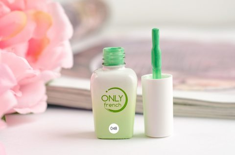 Гель-лак Only French, Green Touch №048, 7ml
