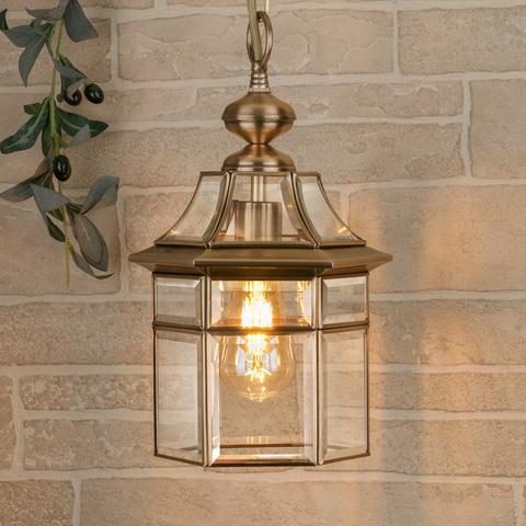 Savoie H медь уличный подвесной светильник IP33 GL 1031H