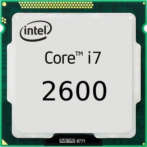 процессор Intel S-1155 Core i7-2600 (3,4/3.8GHz) 4C/8Th 8mb Cache HD 2000 oem