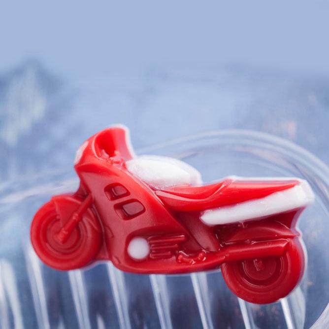 Мыло Мотоцикл. Пластиковая форма