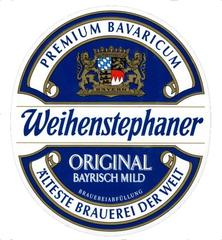 Пиво Weihenstephaner Original Bayrisсh Mild