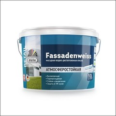 Краска для фасада DUFA RETAIL FASSADENWEISS База 1 (Белый)