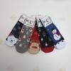 Носки детские махровые Мишка Санта-Клаус