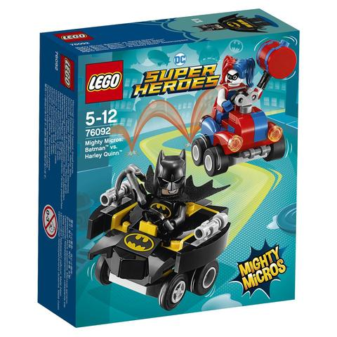LEGO Super Heroes Mighty Micros: Бэтмен против Харли Квин 76092 —  Batman vs. Harley Quinn  — Лего Супергерои ДиСи