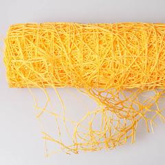Сетка паутинка, 53*5,5 м, цвет желтый