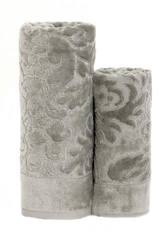 Набор полотенец 2 шт Carrara Loire серый