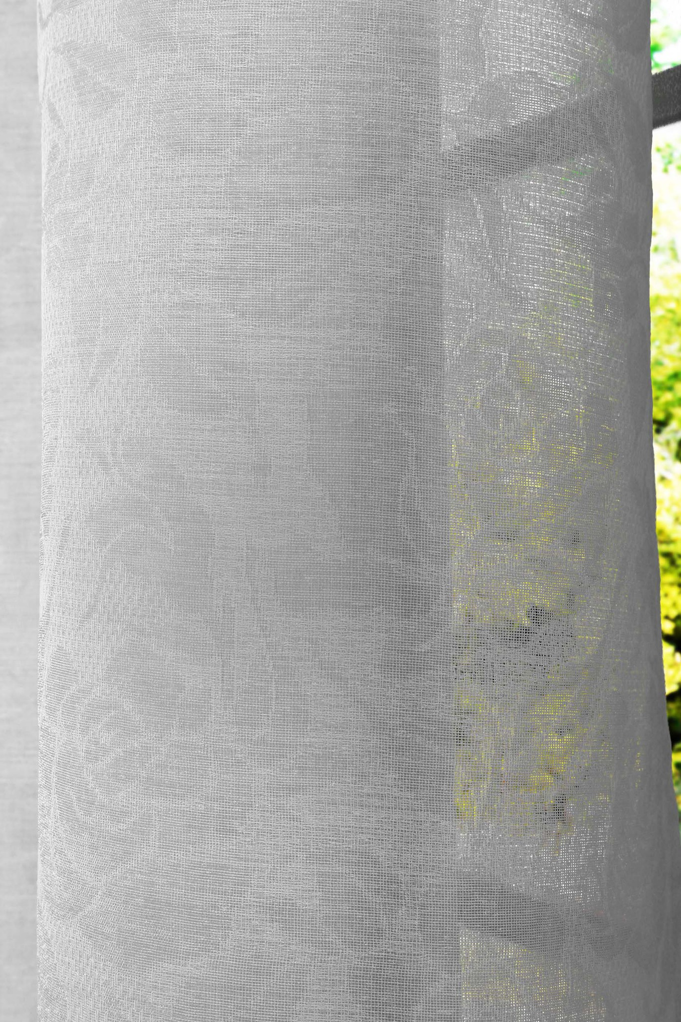 Штора Розалина (светло-серый)