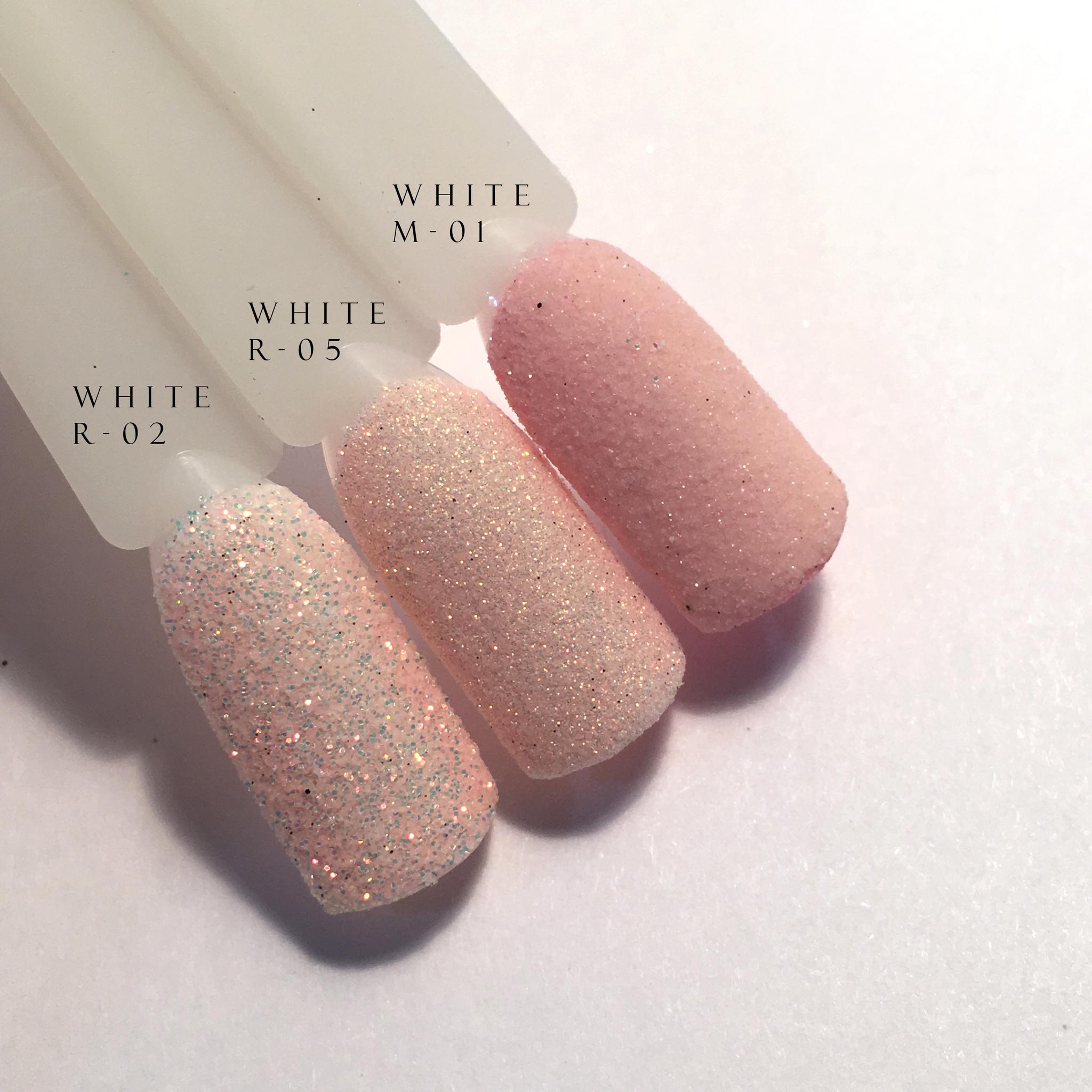 Блеск для ногтей White R-02