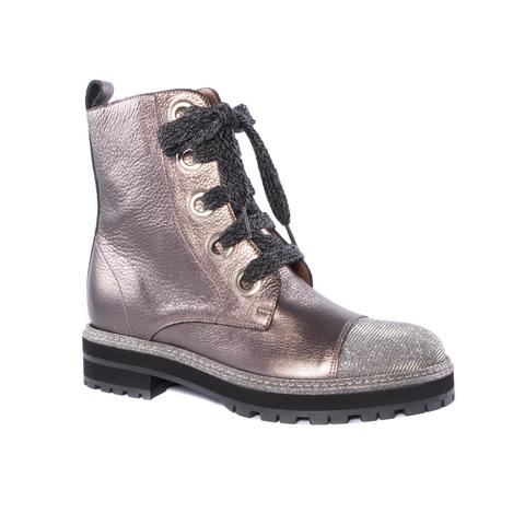 Кожаные ботинки Pertini 13936 на шнуровке