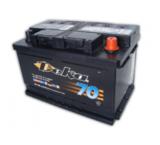 Аккумулятор автомобильный Deka 648MF  ( 12V 75Ah / 12В 75Ач ) - фотография