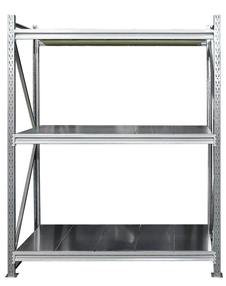 Усиленные металлические стеллажи (глубина 700, высота 2500 мм)