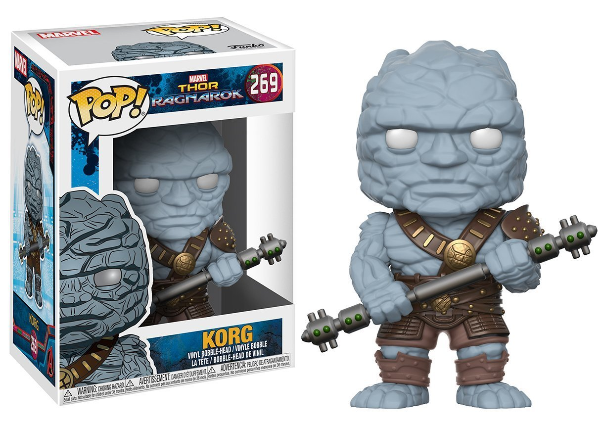 Фигурка Funko POP! Bobble: Marvel: Thor Ragnarok: Korg 22917