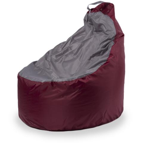 Кресло-мешок «Комфорт» Бордово-серый