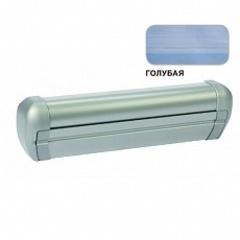 Маркиза крышная с эл.приводом DOMETIC Premium RTA2050,цв.корп.-серебро,ткани-голубой, Ш=5м