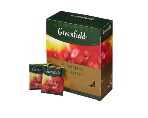 Greenfield Summer Bouquet, 100 пак/уп