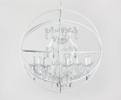 люстра Foucault's orb crystal 5014–D8–80 WH