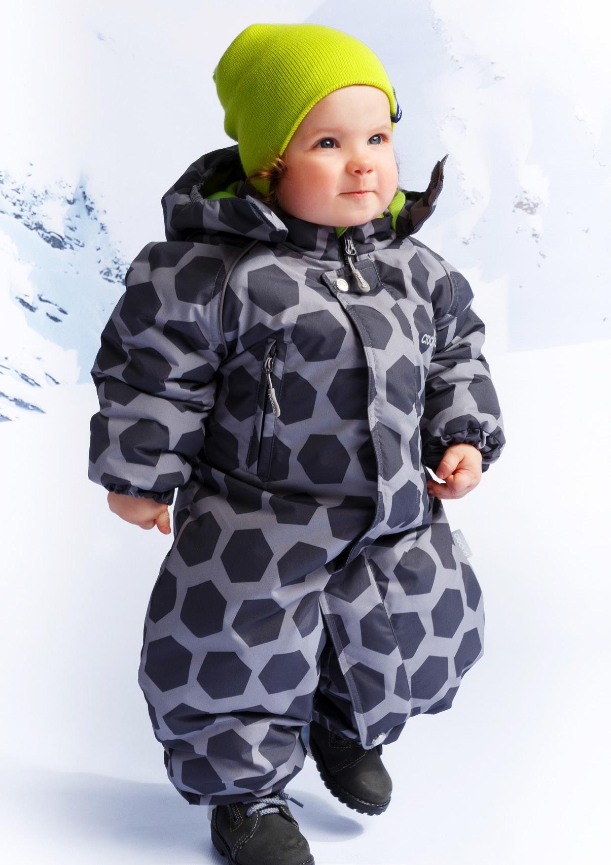 4fc6bf44c3a27d6 Детский зимний комбинезон Crockid, черный - купить в интернет ...