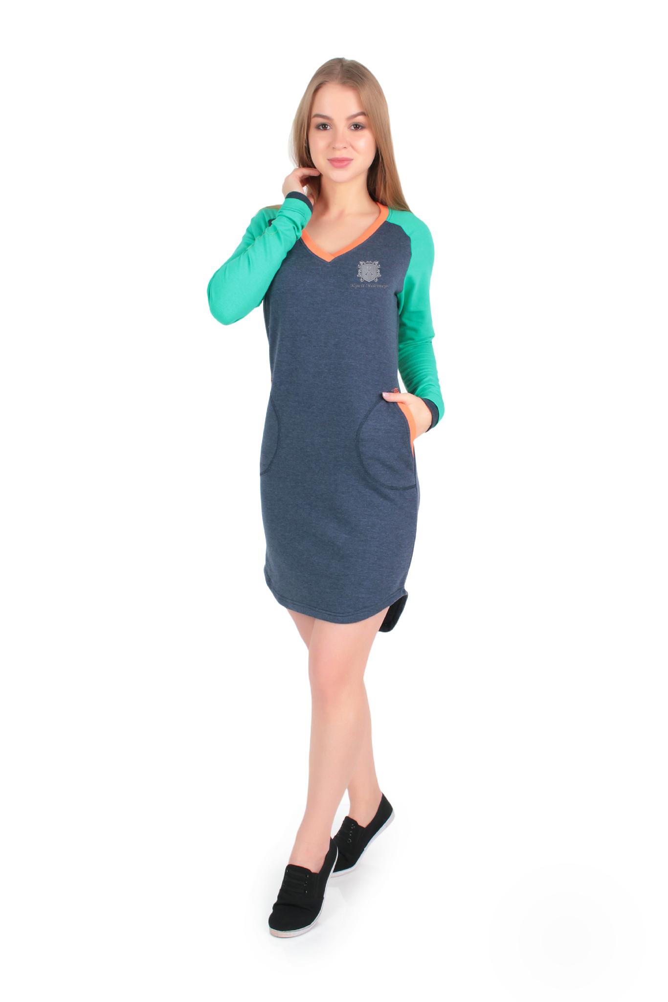 Лекала Платье реглан с V образным вырезом