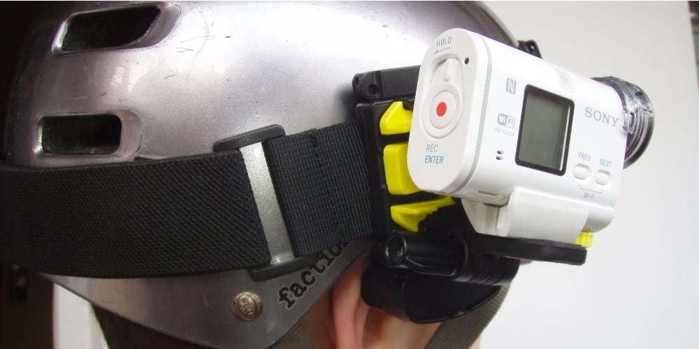 Крепление на голову Sony BLT-UHM1 камера на шлеме