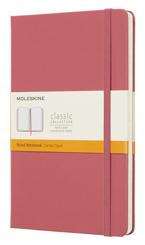 Блокнот Moleskine Classic Large, pink