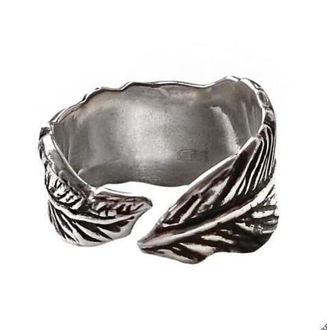 Серебряное разъемное кольцо