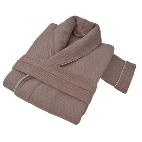 Элитный халат мужской Tosya коричневый от Hamam