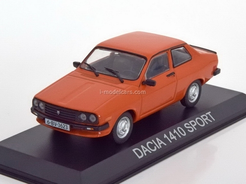 Dacia 1410 Sport dark-orange 1:43 DeAgostini Masini de legenda #26