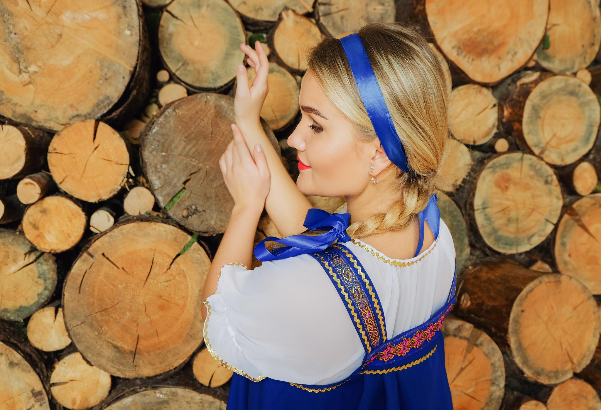 Костюм Русская красавица для хора