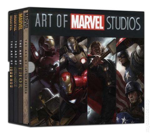 Art of Marvel Studios. Поврежденный слипкейс