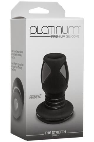Анальный тоннель Platinum Premium Silicone - The Stretch (8,60х4,30 см)