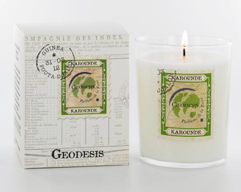 Ароматическая свеча Geodesis Karounde