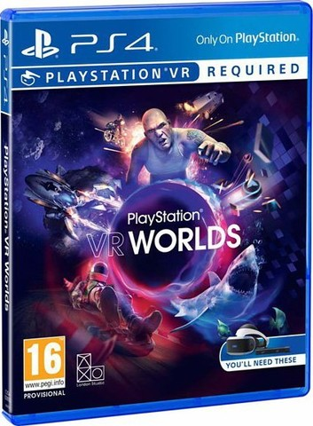 Sony PS4 VR Worlds (только для VR, русская версия)