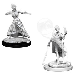 D&D Nolzur's Marvelous Unpainted Miniatures - Fire Genasi Female Wizard