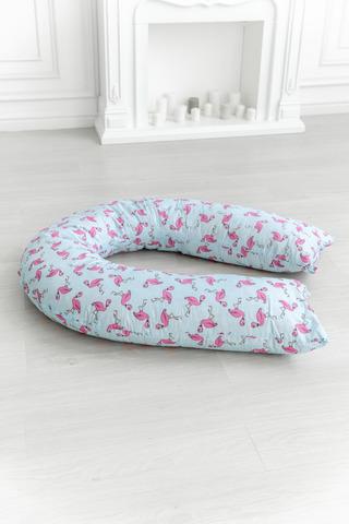 Подушка для беременных U360 (лебяжий пух) 10552 фламинго