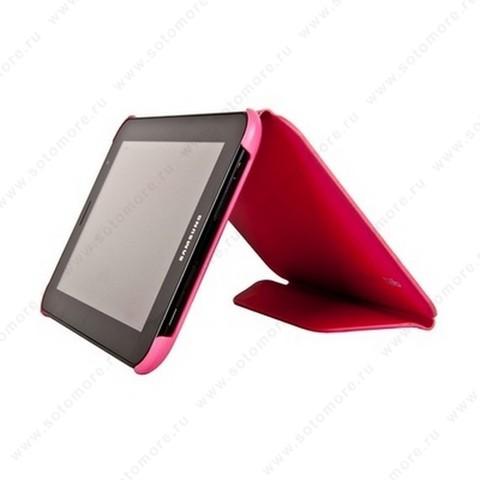 Чехол-книжка Book Cover для Samsung Galaxy Tab 7.0 Plus P6200/ P6210 розовый