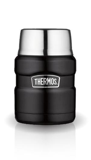 Термос для еды Thermos King SK3000 (0,47 литра), черный*