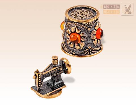 наперсток Ажурный Швейная машинка с магнитом