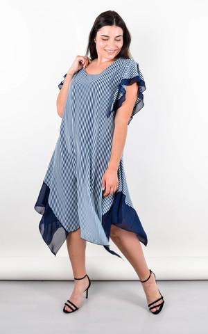 Нивея. Летнее платье для больших размеров. Мята.