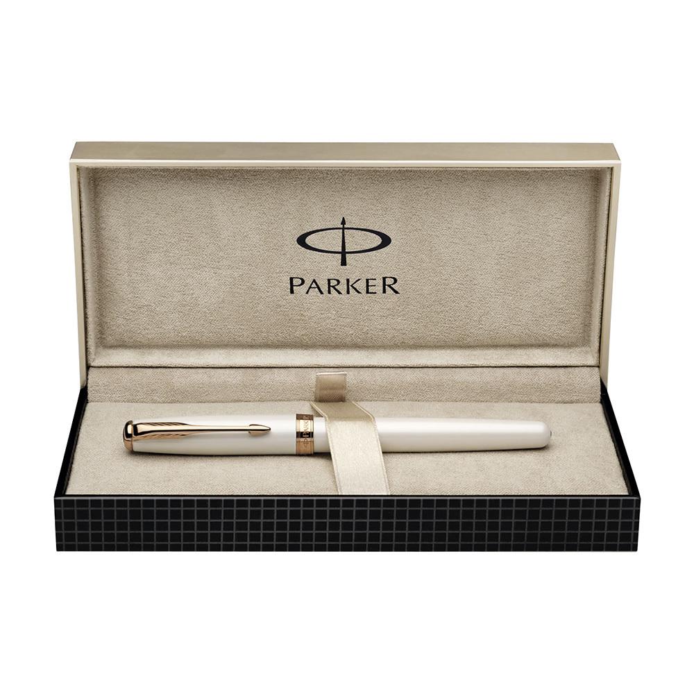 Parker Sonnet - PREMIUM Pearl PGT, перьевая ручка, F