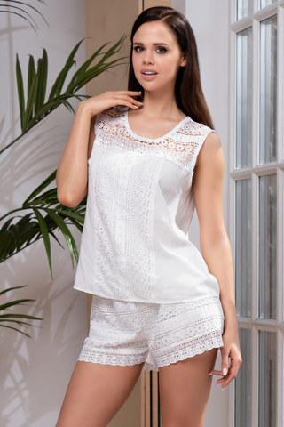 Пижама Jamaica 6642 White Mia-Amore