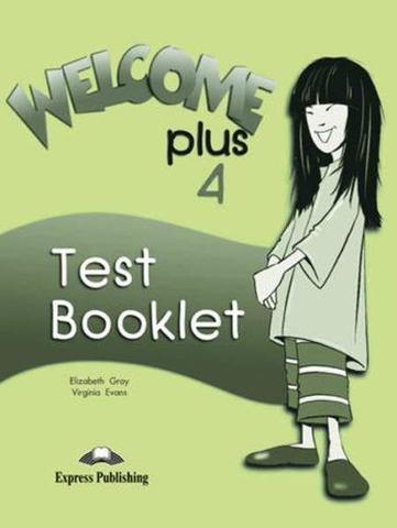 welcome plus 4 test booklet