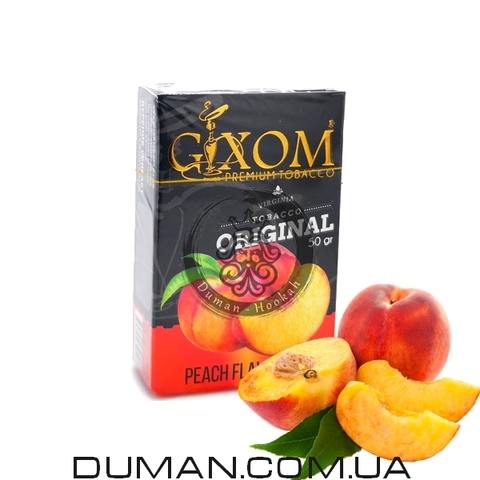 Табак Gixom Peach (Гиксом Персик)