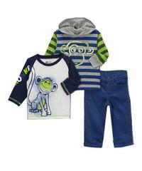 BOYZ WEAR Комплект для мальчика с вельветовыми брюками КМБ26