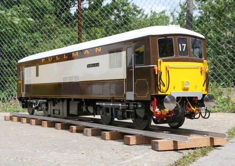 Garden Rail Тепловоз Class 73 на колею 12,7 см, электрический