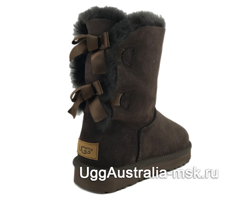 UGG Bailey Bow II Chocolate