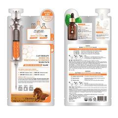 Deoproce Lap Therapy Ampoule Masc Pack - Питательная маска- сыворотка с лошадиным маслом